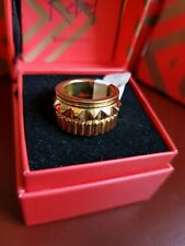 Waterford Rebel 'GRACIE' Gold Spike Ring Boxed New Size Small L5.5