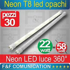 NEON LED TUBO LED 150 CM  T8 OPACHI CALDO FREDDO 220V LUCE KIT 30PZ