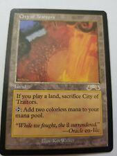 MTG City of Traitors x1 Exodus Magic the Gathering Card  NM Free Shipping