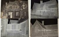 Broadwater School Worthing Set of 4 Glass Photograph Negatives