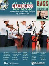All Star Bluegrass Jam Along for Bass Sheet Music Backups Lead Parts 000641947