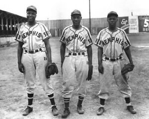 WILLIE WELLS JR & SR IRA WELLS 8X10 PHOTO BASEBALL MEMPHIS RED SOX NEGRO LEAGUE