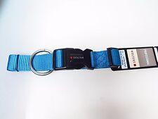 Wolters Hunde Halsband Professional extra-breit 40-45cm aqua Hundehalsband