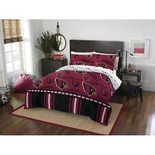 Arizona Cardinals Nfl Queen 5 Piece Comforter Bedding Team Logo Bed in Bag Set
