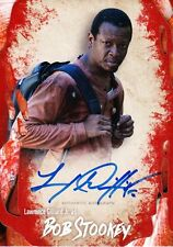 The Walking Dead Survival Box Autograph Card Lawrence Gilliard Jr As Bob