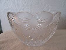 Crystal Clear Signatures,Madison Ave.Crystal Bowl,6 in.New/old stock,In Box