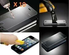 10 X Apple Tempered Glass Screen Protector Guard for iPhone 4  4S