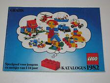 VINTAGE LEGO 1982 CATALOG FOLDER 'KATALOGUS' DUTCH