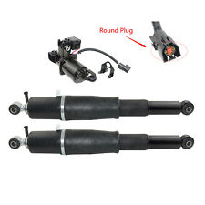For Cadillac Escalade Chevy Tahoe GMC 2*Rear Shock Struts W/ Compressor Pump Kit