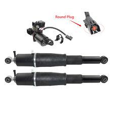 For Cadillac Escalade Chevy Tahoe GMC 2*Rear Shock Struts W/ Compressor Pump Kit