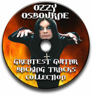 OZZY OSBOURNE STYLE HEAVY METAL ROCK GUITAR MP3 BACKING TRACKS CD LIBRARY