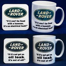 SERIES LAND ROVER 2 Mug & 2 Coaster Set - 4WD 4x4 Humour Joke Funny - FREE P&P
