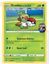 Pokémon TCG Grookey on the Ball Futsal Promo Card England Exclusive SEALED 1