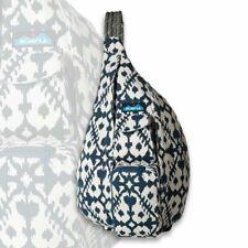 New Kavu Women Sling Rope Bag Day Pack Travel Backpack Blue Blot -Clearance sale