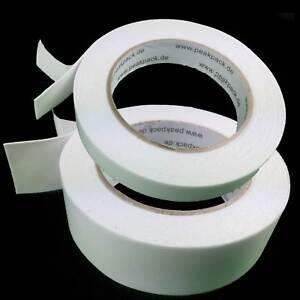 Doppelseitiges Montage-band Kleband Breite 18&36mm Stärke:1mm L: 4,6m beidseitig