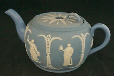Gorgeous 1880 Dudson Bro. Hanley Wedgwood Style Jasperware Teapot Percolator