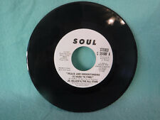 Jr. Walker & The All Stars, Peace And Understanding, Soul Records 35108F A Promo