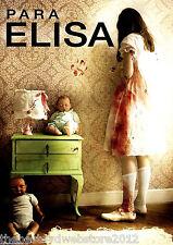 Para Elisa(2015) DVD, Horror, NEW