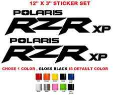 (#582) POLARIS RZR 800 850 1000 570 SPORTSMAN XP QUAD STICKERS DECALS