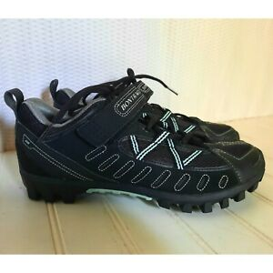 Bontrager Cycling Shoes Women's 8.5 SSR Mountain Black with Clips