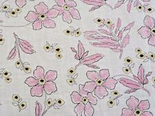 Adorable Small Flowers Eyelet Cotton Lawn - Soft & Light!!