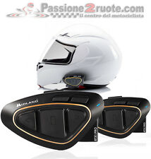 Interfono bluetooth Midland Btx1 pro twin pack doppio casco Acerbis Arai Bell