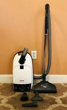 Miele White Star Canister Vacuum Cleaner W/Attachments ~ Model S312i