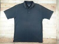 Black NIKE Golf Dri-Fit Mens XL Polo Shirt