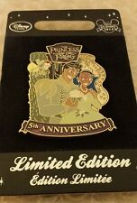 Disney Store Princess and the Frog 5th Anniversary LE 550 NEW Rare Item