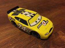 Disney Pixar Cars- Sidewall Shine #74 Race Car (Plastic Tires).
