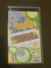 Sony PlayStation PSP Video Game Puzzle Guzzle Rated E