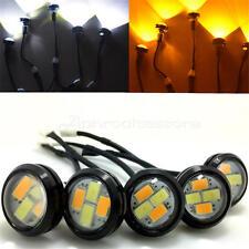 10X Eagle Eye LED Daytime Running DRL Backup Light Car Auto Lamp White&Yellow