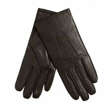 Top Quality New  Isotona Leather Ladies Lined Gloves,brown,sz S,Soft,22cm long