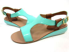 KELSI DAGGER, GALINA SANDAL, JADE,  WOMENS, US 8.5 M, EURO 38.5, NEW IN BOX