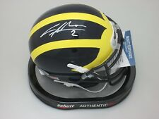 Michigan Wolverines CHARLES WOODSON Signed Mini Helmet AUTO - Heisman - Beckett