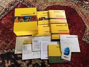 Software PC Rosetta Stone Deutsch German Level 1 & 2 & 3 Version 3