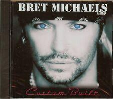 BRET MICHAELS - CUSTOM BUILT - CD - NEW