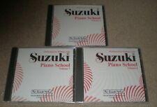 Suzuki Piano School Performed By William Aide Volumes 5 6 7 Set 3 Discs New
