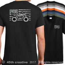 Eua Atv Quad Bandera Camiseta American Senderismo Camisa Off Road Barro Arena