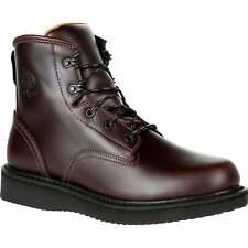 +Georgia Boots GB00361 Soft Toe Slip Resistant Boot - Men's Size 10W - Brown