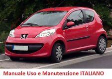Manuale uso e manutenzione PEUGEOT 107 (2005/2014) ITALIANO PDF