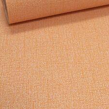 Erismann Plain Orange Textured Linen Effect Non Woven Wallpaper 6423-04