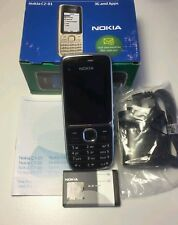 Nokia C2-01 - Black (Unlocked) Mobile Phone - 6 Months Warranty