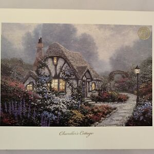 Thomas Kinkade 8.5 X 11 Chandler's Cottage Art Print Painter of Light Unframed