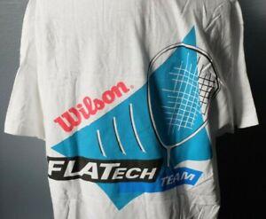 Wilson Sport Mens Core Crew W Tennis nanoWIK Tech Short Sleeve T Shirt