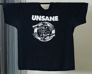 Vintage Unsane T-Shirt XL X Large Relapse Cutthroats 9 Fruit of the Loom