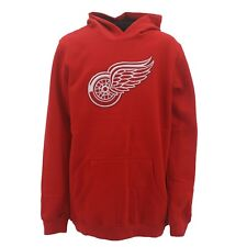 Reebok Detroit Red Wings Kids Youth Size Sweatshirt NHL Official Stitched Logo
