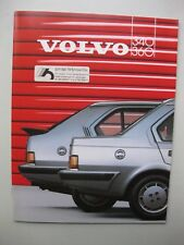 Volvo 340 360 prestige brochure Prospekt 40 pages Dutch text 1986
