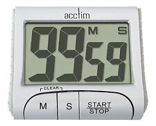 Acctim Jumbo LCD Timer Count up or Down Dual Timer in hours/minutes