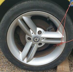 Smart Roadster Spikeline Alloy Wheels 16 inch.